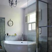 浴室浴缸装修效果图