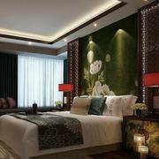中国风卧室壁纸设计
