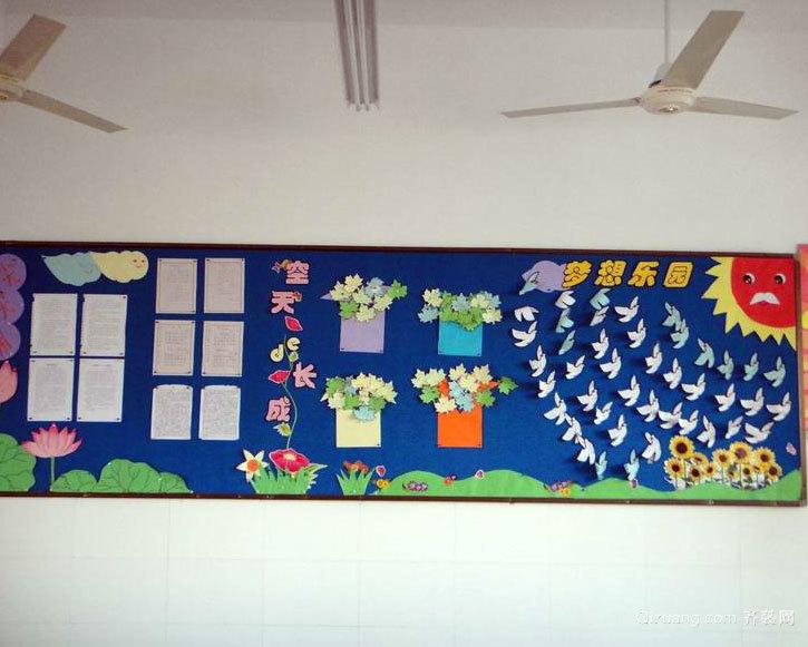 简约实用小学一年级教室布置效果图素材大全