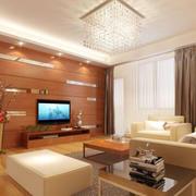 客厅简约地板设计