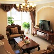 美式小户型沙发设计