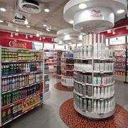 大型超市创意吊顶设计