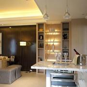 客厅吧台设计