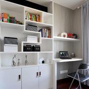 现代简约风格书柜设计