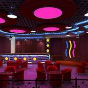 酒吧圆形吊顶设计