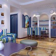 小户型客厅拱形门设计