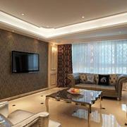 中式客厅飘窗设计