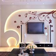 自然风味的背景墙设计