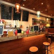 咖啡厅吧台设计