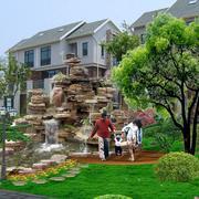 别墅洋房假山设计