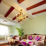 东南亚风格吊顶装修效果图设计
