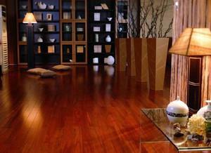 客厅原木地板设计