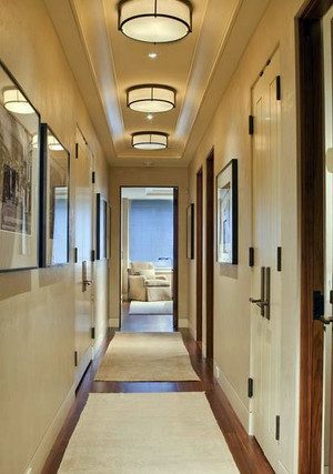 古典风韵 中式复古走廊吊顶装修效果图图集