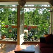 阳台绿化设计