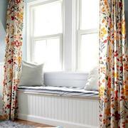 拼色窗帘设计