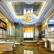 欧式别墅卫生间装修