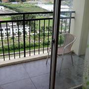 阳台田园桌椅设计