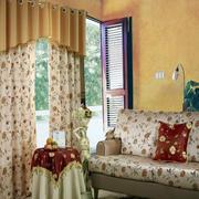 阳台窗帘设计