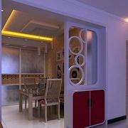 客厅餐厅隔断设计