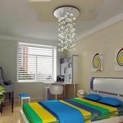 卧室吊顶灯饰装修