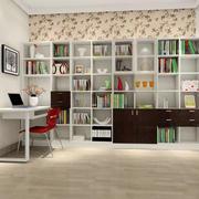 田园风格书柜设计