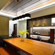 小户型餐厅灯饰设计