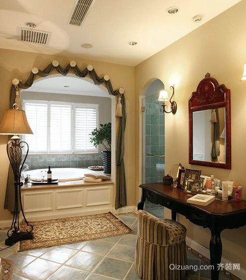 带给你舒适享受的卫生间按摩浴缸装修效果图