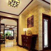 中式古韵门厅设计