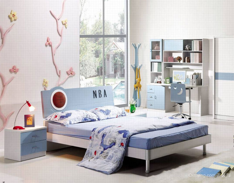 极有艺术价值的大户型儿童套房装修效果图素材大全