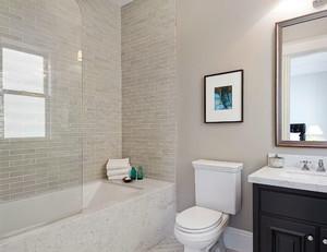 给您舒适的家用卫生间隔断装修效果图素材大全