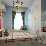 简约卧室榻榻米设计