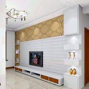 石膏板材料背景墙设计