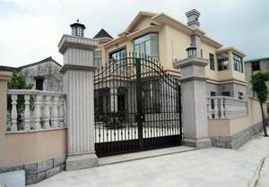 大气别致的别墅大门装修设计效果图
