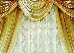 豪华典雅 欧式别墅窗帘效果图图集