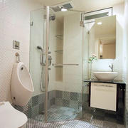 卫生间浴室隔断设计