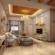 家装客厅效果图