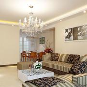 欧式客厅沙发装潢设计