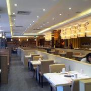 火锅店现代简约风格吊顶