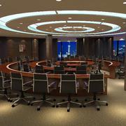 会议室圆形吊顶设计