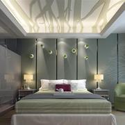 酒店卧室背景墙设计