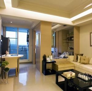 2015简约经典三室一厅公寓装修效果图
