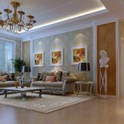 欧式客厅沙发装修