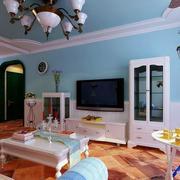 地中海风格公寓设计