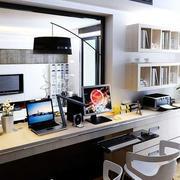 客厅电脑桌装修