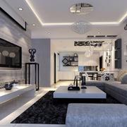 后现代风格小户型客厅