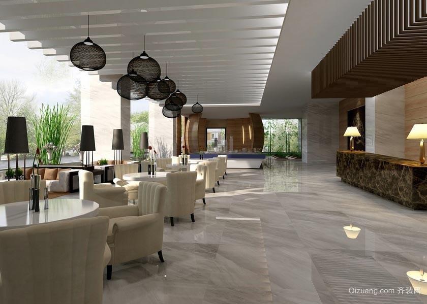 偶而小酌一下:前卫温馨的咖啡厅沙发装修效果图
