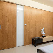 卧室橱柜隐形门设计