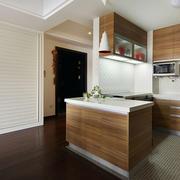 原木厨房设计