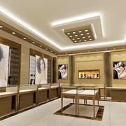 简约珠宝店橱窗设计