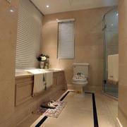 欧式隔断浴室装修